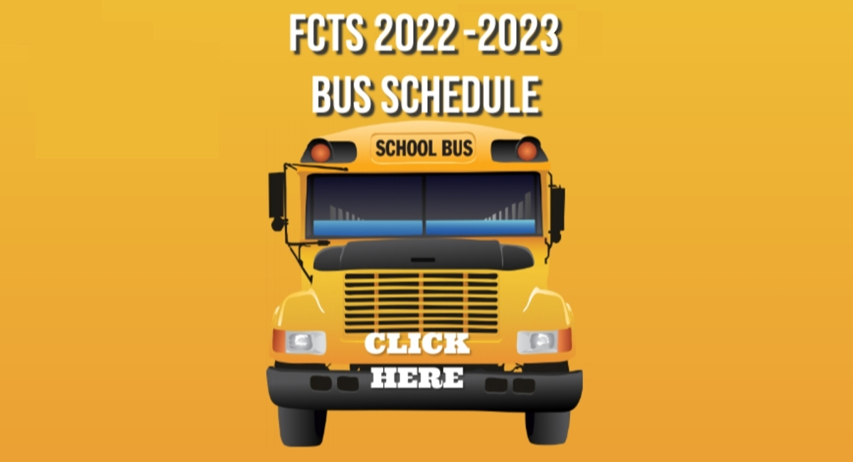 <br> Bus schedule now available!